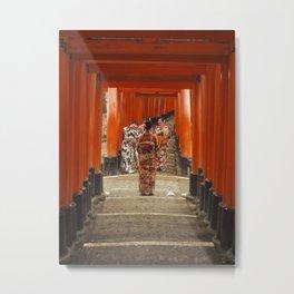 Fushimi Inari Taisha 2 Metal Print