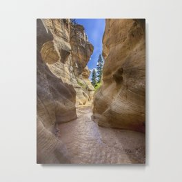 At the End of the Canyon - Grand Staircase of the Escalante - Utah Metal Print