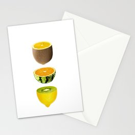 Mixed Fruits Stationery Cards