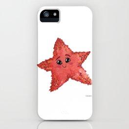Starfish animal sweet gift children seawater iPhone Case