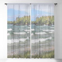 Au Train Bay Sheer Curtain