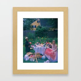 6 of Cups Framed Art Print