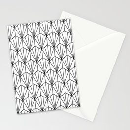 Art Deco Vector in Black and White Stationery Cards