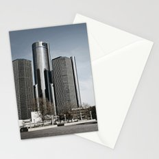 Detroit's Hart Plaza Stationery Cards