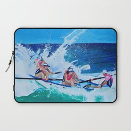 Surf Boat Rowers Laptop Sleeve