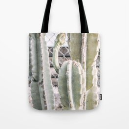 sprouting cactus Tote Bag