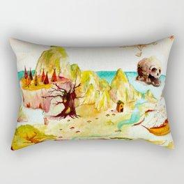 Peter Pan Map Rectangular Pillow