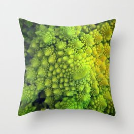 Living Fractals Throw Pillow