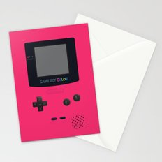 GAMEBOY Color - Pink Version Stationery Cards