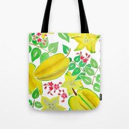 Starfruit Season Tote Bag