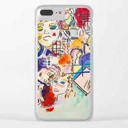 dre4min Clear iPhone Case
