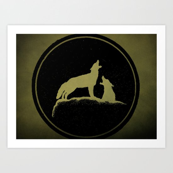 The Howling Art Print