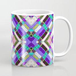 Glass Block Abstract Coffee Mug