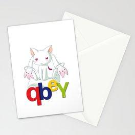 Kyubey Stationery Cards