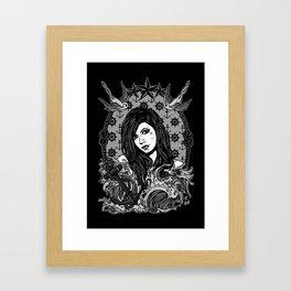 Safe Home Framed Art Print