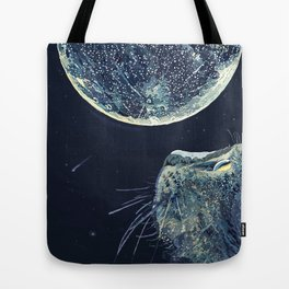 The Moon and the Cat Tote Bag