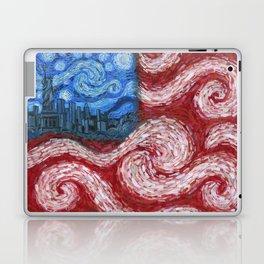 American Flag No. 2 (Starry American Night) Laptop & iPad Skin
