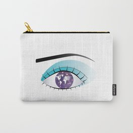 The world in Universe in the Eye Carry-All Pouch
