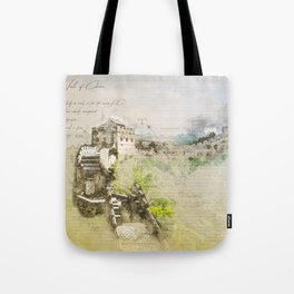 Great Chinese Wall Tote Bag