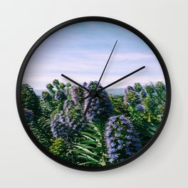 Purples Wall Clock