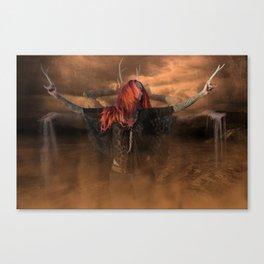 Triple Goddess Canvas Print