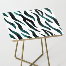 Here Kitty Kitty - Teal Side Table