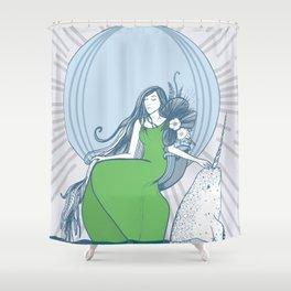Arctic Queen Shower Curtain