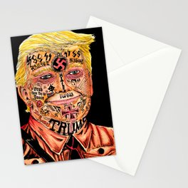 Racist President Stationery Cards