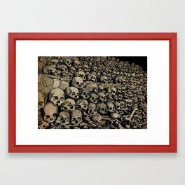 Bones Framed Art Print