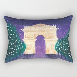 Arc de Triomphe Rectangular Pillow