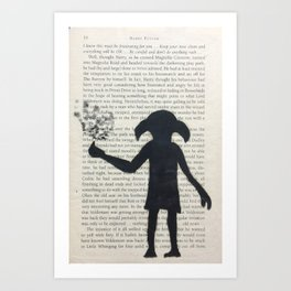 Dobby! Art Print