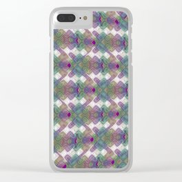 Abstract FF P YY Clear iPhone Case