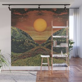 Sunset vibes Wall Mural