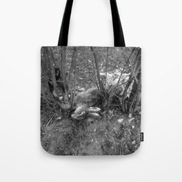 Dead Rabbit Dead. Tote Bag
