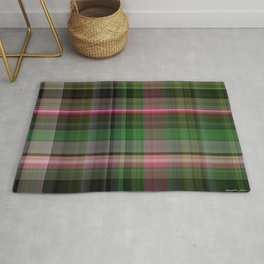 Pink Roses in Anzures 5  Plaid 1 Rug