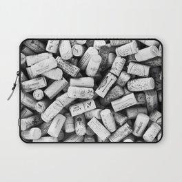 Something Nostalgic II Twist-off Wine Corks in Black And White #decor #society6 #buyart Laptop Sleeve