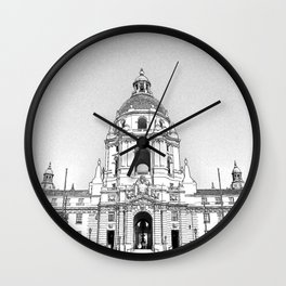City Hall Pasadena. Wall Clock