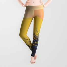 Abstract pine tree Leggings