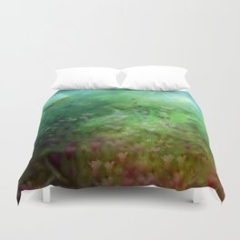 """""""The Enchanted Forest"""" (Fairyland) Duvet Cover"""