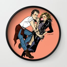 Band Candy ~ Juice and Ripper Pin-up Wall Clock