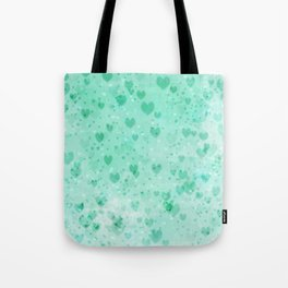 A Sea Of Floating Hearts Tote Bag