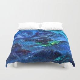 Blue Anemone Duvet Cover