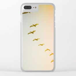Updraft #2 Clear iPhone Case
