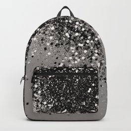 Silver Gray Glitter #1 #shiny #decor #art #society6 Backpack