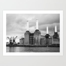 Battersea Power Station II Art Print