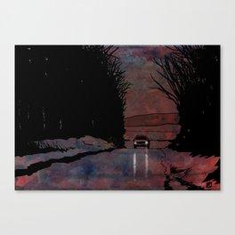 Drive 2 Canvas Print
