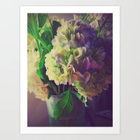 Hope Flowers Art Print