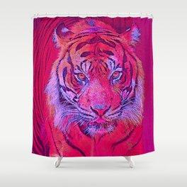 Popular Animals - Tiger 2 Shower Curtain