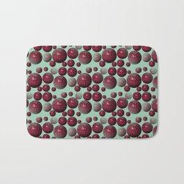 Jamun - Bubble beads J of Alphabet collection Bath Mat