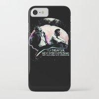 tyler durden iPhone & iPod Cases featuring Fight Club Tyler Durden by Anne LaClair